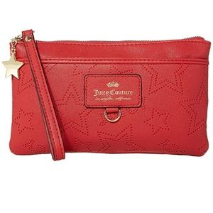 Juicy Couture Ever After Wristlet - Red